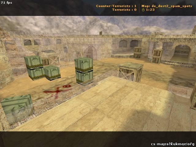 Установка карты jail_thedeath_castle_ultimate. de_dust2_spam_spots.